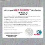 Approved Azo-Brader Applicator