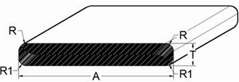 Flat Bar - Flat Ends
