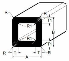 Tube - Square